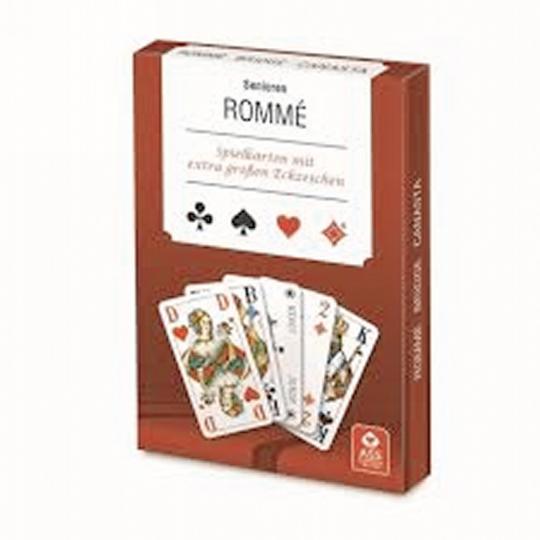 Kartenspiel für Senioren »Rommé«.