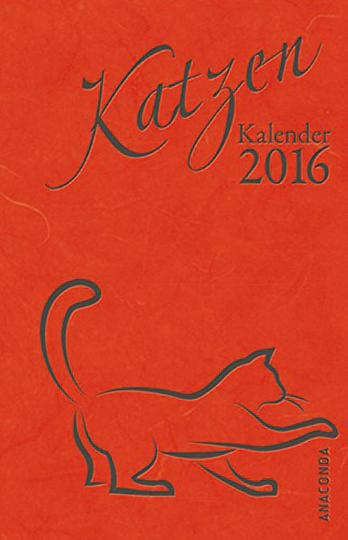 Katzen-Kalender 2016. Taschenkalender.