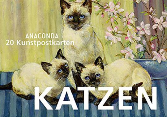 Katzen. 20 Kunstpostkarten.