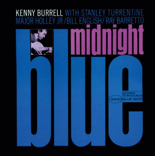 Kenny Burrell. Midnight Blue (Rudy Van Gelder Remasters). CD.