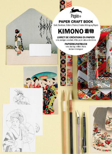 Kimono. Papierkunstbuch.