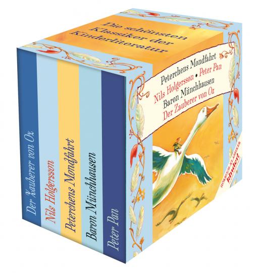 Kinder Hörbuch-Klassiker-Box. 5 CDs.