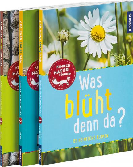 Kinder Naturführer. 3 Bände im Set.