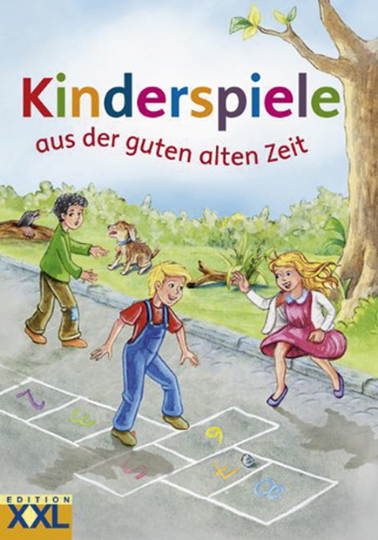 Kinderspiele aus der guten alten Zeit.