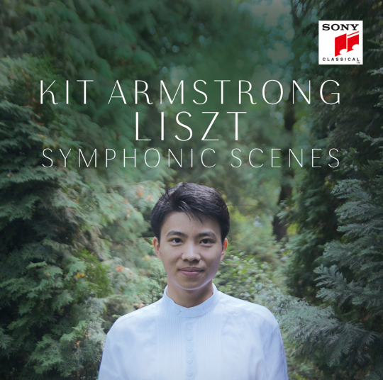 Kit Armstrong. Liszt - Symphonic Scenes. CD.