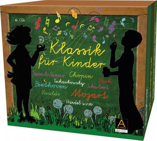 Klassik für Kinder. Große Meisterwerke für kleine Hörer. 6 CDs.