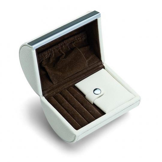 Kleine Leder-Schmuckbox »Donatella«.