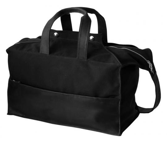 Kleine Reisetasche »Waxcan«, schwarz.