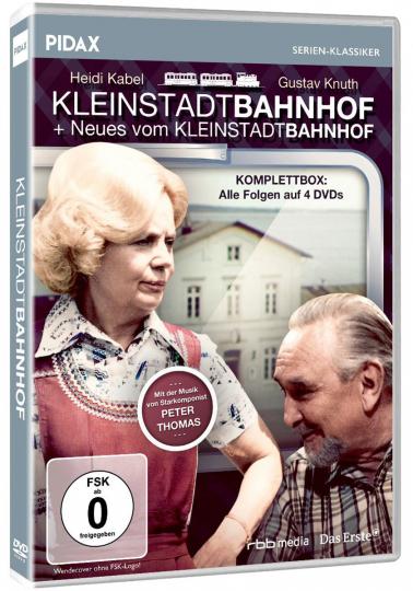 Kleinstadtbahnhof / Neues vom Kleinstadtbahnhof (Komplettbox). 4 DVDs.
