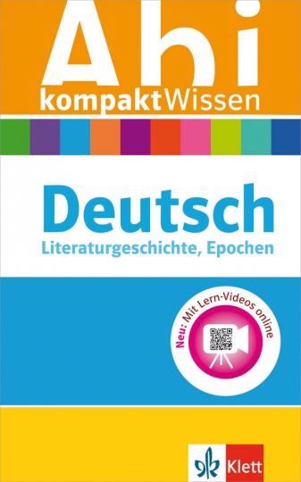 Klett Abi kompaktWissen Deutsch.