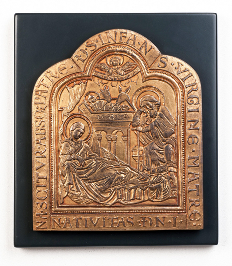 Klosterneuburger Altar »Geburt Christi«. Österreich, 1181.
