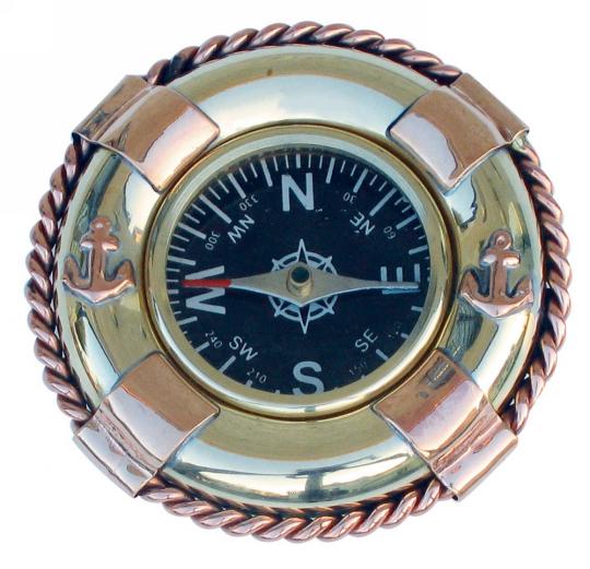 Kompass »Rettungsring«.
