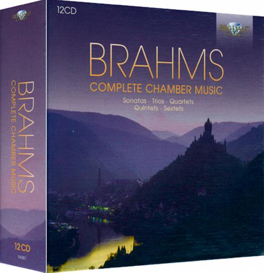 Komplette Kammermusik 12 CDs