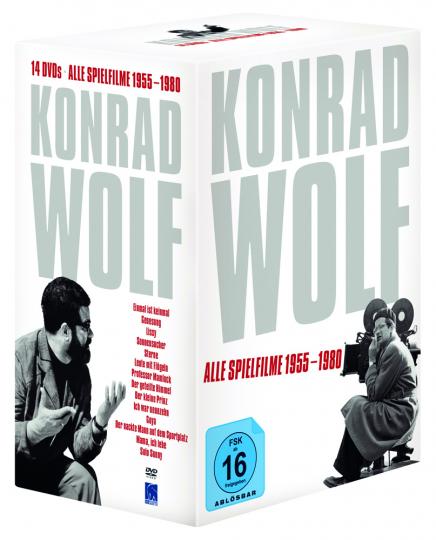 Konrad Wolf. Alle Spielfilme 1955 - 1980. 14 DVDs.