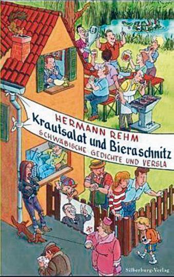 Krautsalat und Bieraschnitz - Schwäbische Gedichte und Versla (R)