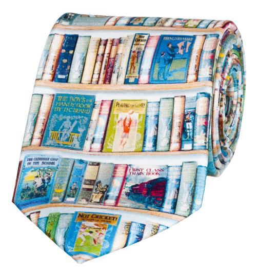 Krawatte »Bücher«.