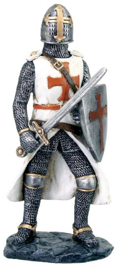 Kreuzritter mit Schwert
