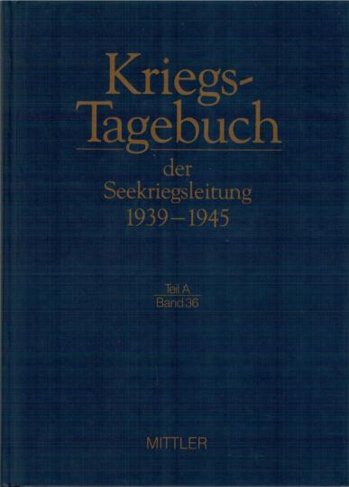 Kriegstagebuch der Seekriegsleitung Seekriegsleitung 1939-45 November 1940 Bd. 15