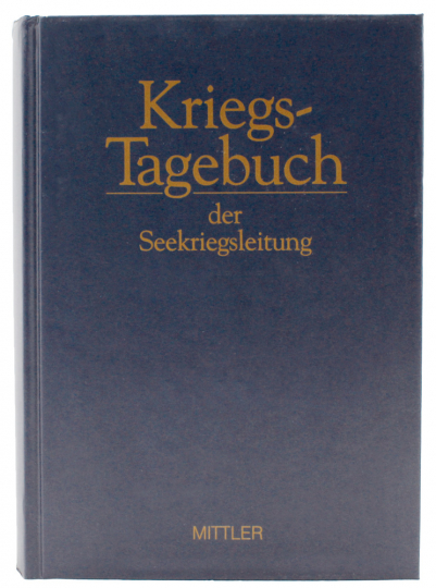 Kriegstagebuch Seekriegsleitung Seekriegsleitung 1939-45 Bd. 35