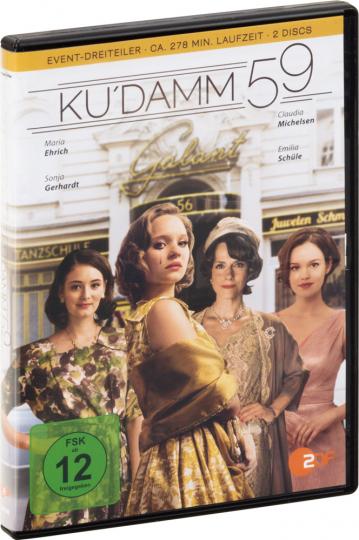 Ku'damm 59 2 DVDs.