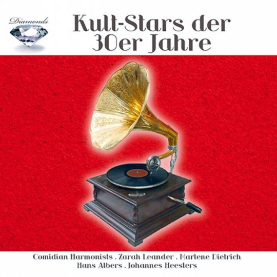 Kult-Stars der 30er Jahre 5 CDs