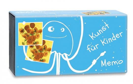 Kunst für Kinder. Bilderbande-Memo mit 36 tollen Bildern.