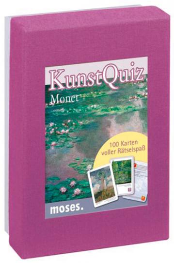 KunstQuiz Monet. 100 Karten voller Rätselspaß.