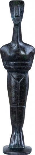 Kykladenidole - Handarbeit aus Griechenland: Kykladenidol männlich