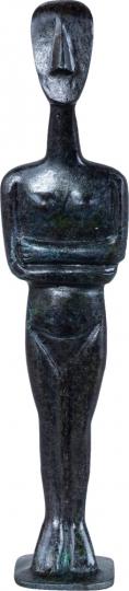 Kykladenidole - Handarbeit aus Griechenland: Kykladenidol weiblich
