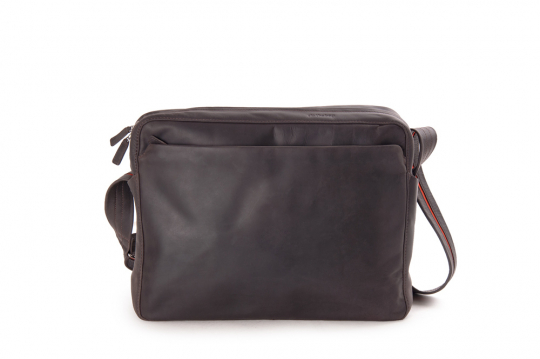 Leder-Handtasche »Dothebag«, braun.
