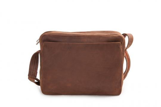 Leder-Handtasche »Dothebag«, natur.