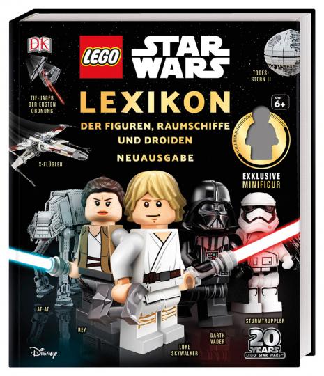 Lego Star Wars Lexikon der Figuren, Raumschiffe und Droiden. Mit exklusiver Minifigur Finn.