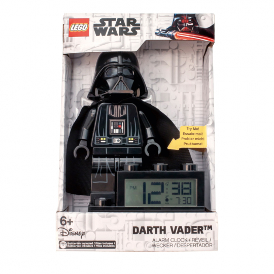 Lego Star Wars Wecker Darth Vader.