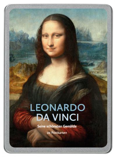 Leonardo da Vinci. Seine schönsten Gemälde. 20 Postkarten.