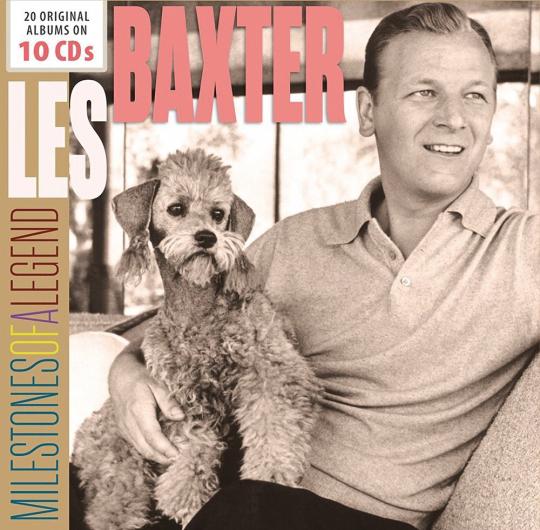 Les Baxter. Milestones Of A Legend. 10 CDs.