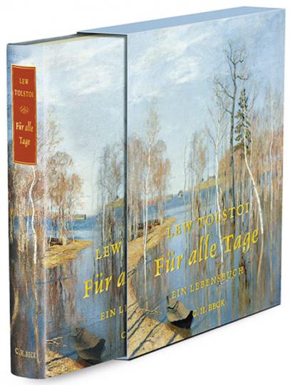 Lew Tolstoi. Für alle Tage. Ein Lebensbuch. Prachtausgabe.