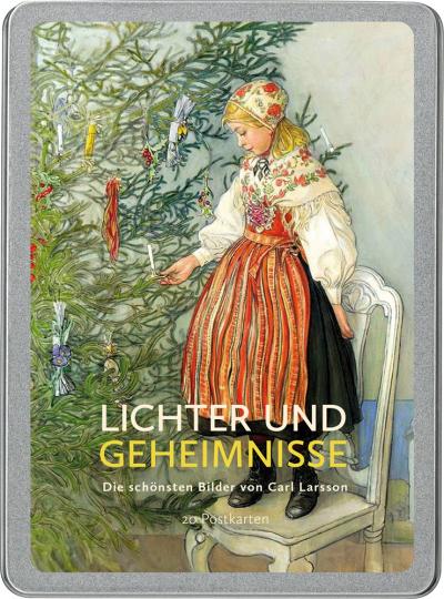 Lichter und Geheimnisse. Die schönsten Bilder von Carl Larsson. Postkarten-Set.