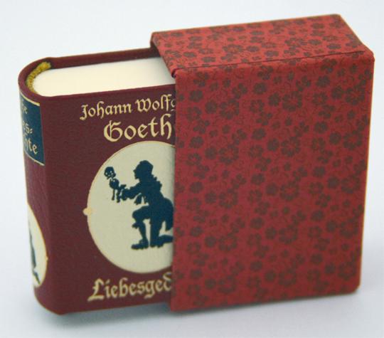 Liebesgedichte - Leder-Mini-Ausgabe im Schmuckschuber