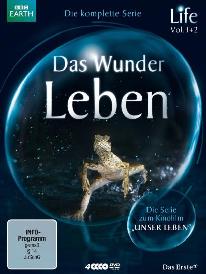 Life - Das Wunder Leben - Die komplette Serie (BBC). 4 DVDs.