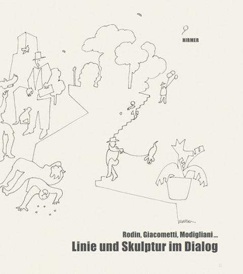 Linie und Skulptur im Dialog.
