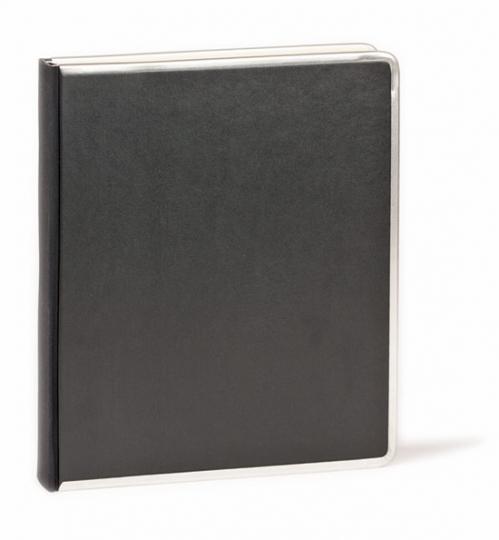 Liniertes Notizbuch »Companion« (schwarz, A5).