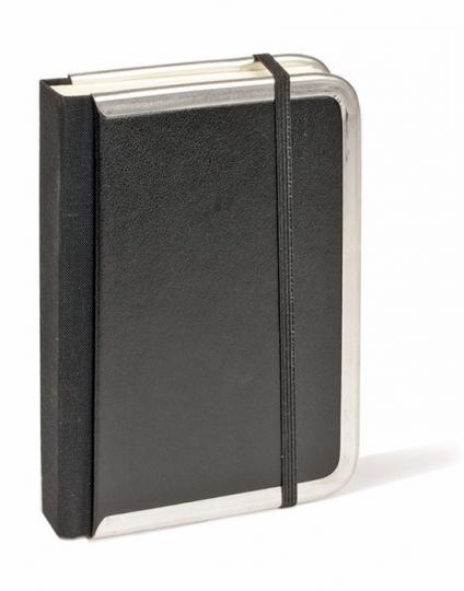 Liniertes Notizbuch »Companion« (schwarz, klein).
