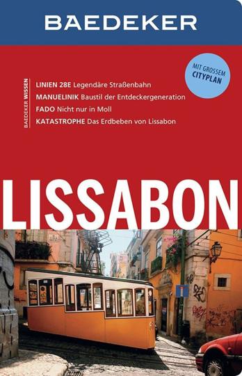 Lissabon - Mit großem City-Plan
