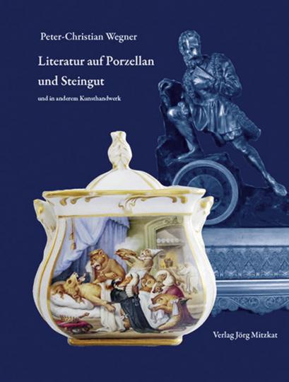 Literatur auf Porzellan und Steingut und in anderem Kunsthandwerk.