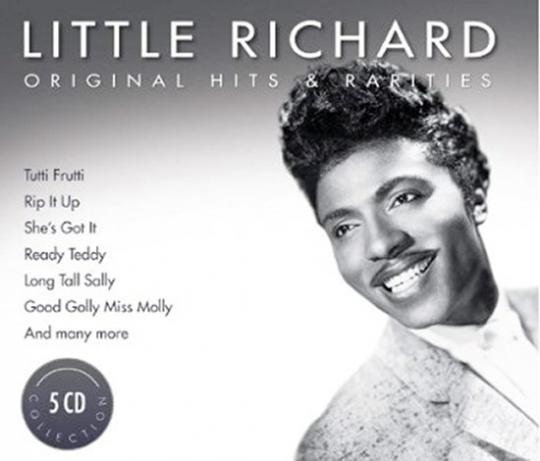 Little Richard. Original Hits & Rarities. 5 CDs.