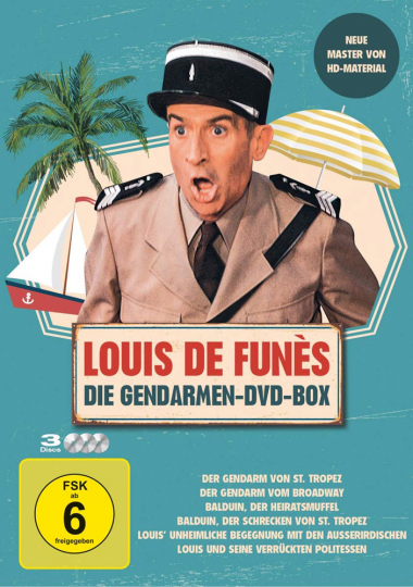 Louis de Funès: Die Gendarmen-DVD-Box 3 DVDs
