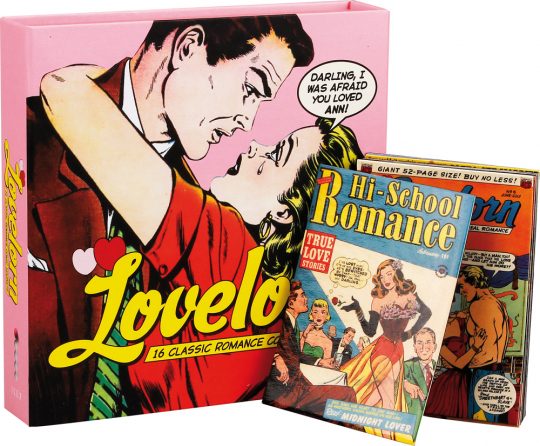 Lovelorn 16 Classics Romance Comic Magnets.