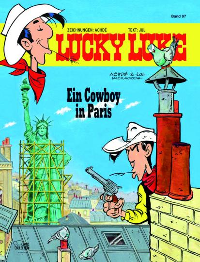 Lucky Luke 97. Ein Cowboy in Paris.