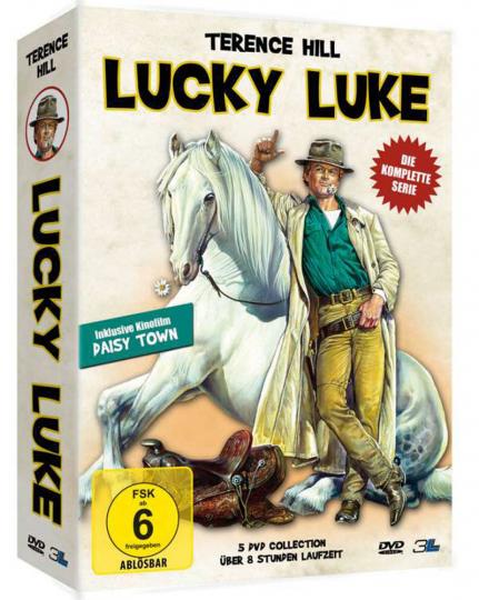 Lucky Luke (Komplette Serie inkl. Kinofilm). 5 DVDs.