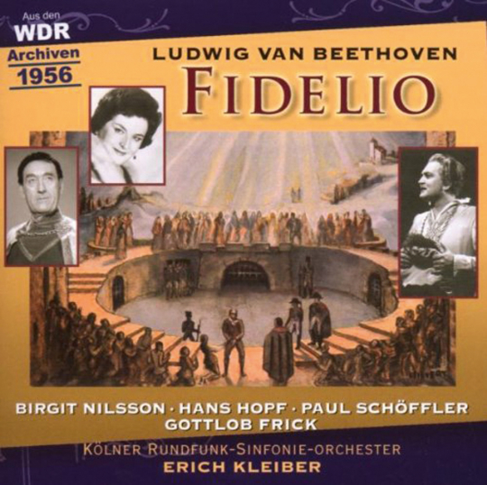 Ludwig van Beethoven. Fidelio (Gesamtaufnahme dt.). 2 CDs.